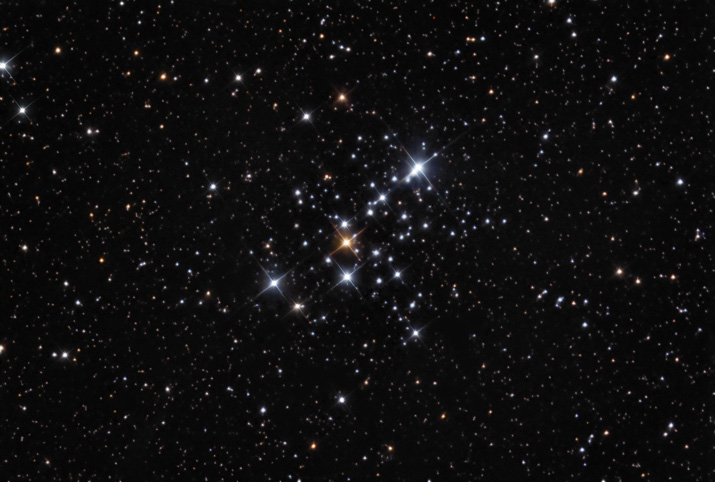 M103 - Open Cluste in Cassiopeia