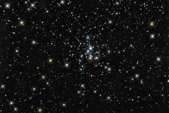 NGC 436 - Open Cluster in Cassiopeia