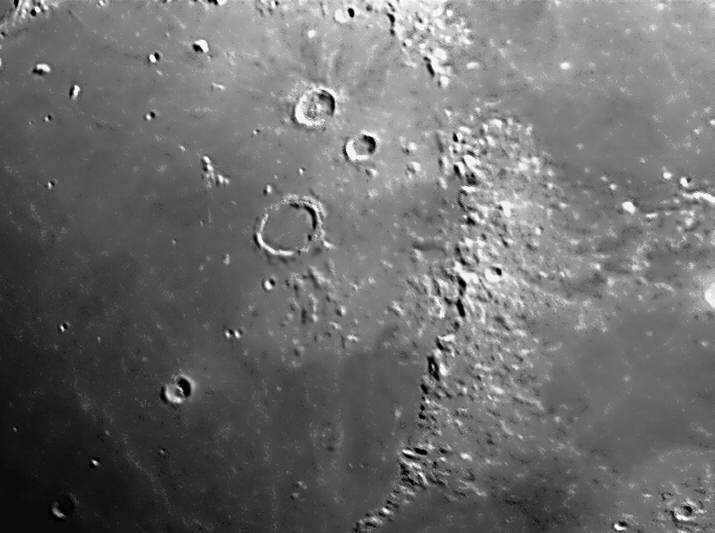 Moon Crater Archimedes