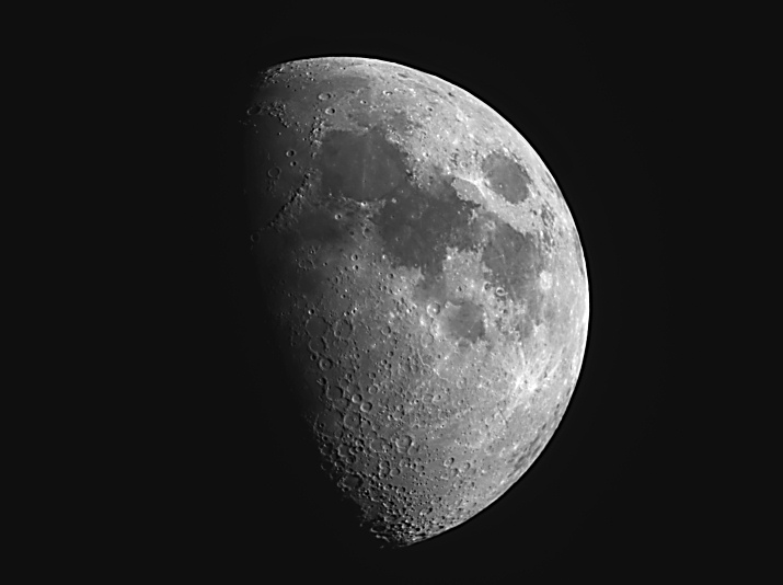 Waxing First Quarter Moon